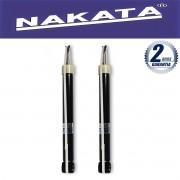 Par de Amortecedores Traseiro Nakata Fiesta 2003 Até 2013