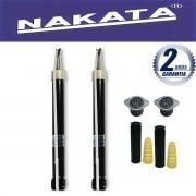 Par de Amortecedores Traseiro Nakata Fiesta 2003 Até 2013 + Kit da Suspensão