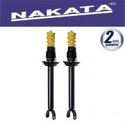 Par de Amortecedores Traseiro Nakata Fiesta Nacional 1996 Até 2002 Fiesta Street 2002 Até 2005 + Kit da Suspensão
