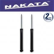 Par de Amortecedores Traseiro Nakata Focus 2000 Até 2008