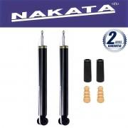Par de Amortecedores Traseiro Nakata Fox Polo 2003 Até 2013 + Kit da Suspensão