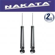 Par de Amortecedores Traseiro Nakata Honda City 2009 Até 2013