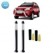 Par de Amortecedores Traseiro Remanufaturados Ford Ecosport 2003 Até 2012 + Kit da Suspensão