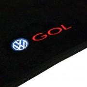 Tapete Carpete Personalizado Logo Bordada Gol G5 e G6 2008 até 2016