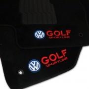 Tapete Carpete Personalizado Logo Bordada Golf Sportline 2008 até 2014