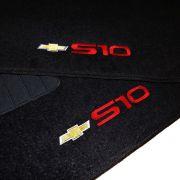 Tapete Carpete Personalizado Logo Bordada S10 CS CD 2012 Até 2016