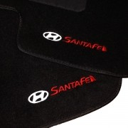 Tapete Carpete Personalizado Logo Bordada Santa Fé 2001 até 2010