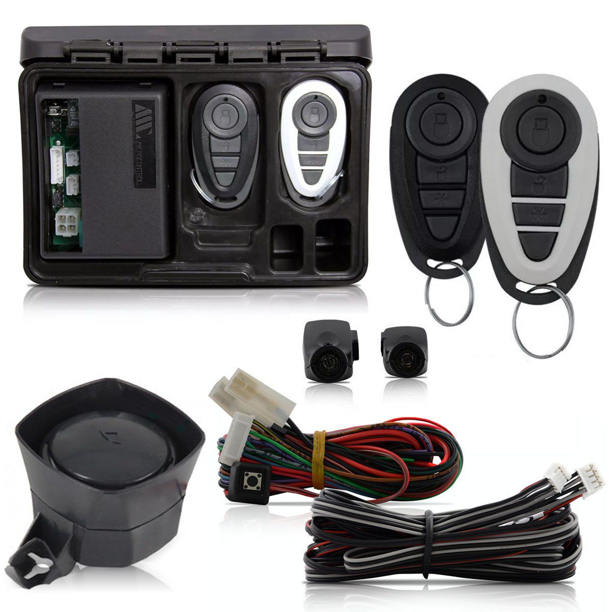 Alarme Automotivo Bloqueador Anti-furto Amx Precision Plus