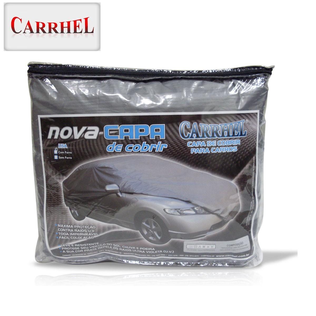 Capa Para Cobrir Carro 100% Impermeável Protetora Forrada Tamanho P