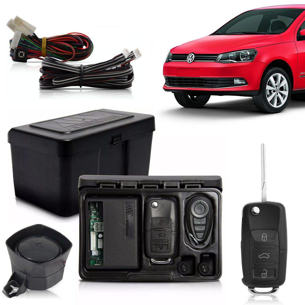 Alarme Automotivo Bloqueador Anti-furto Chave Canivete Gol G6 2012 Até 2016