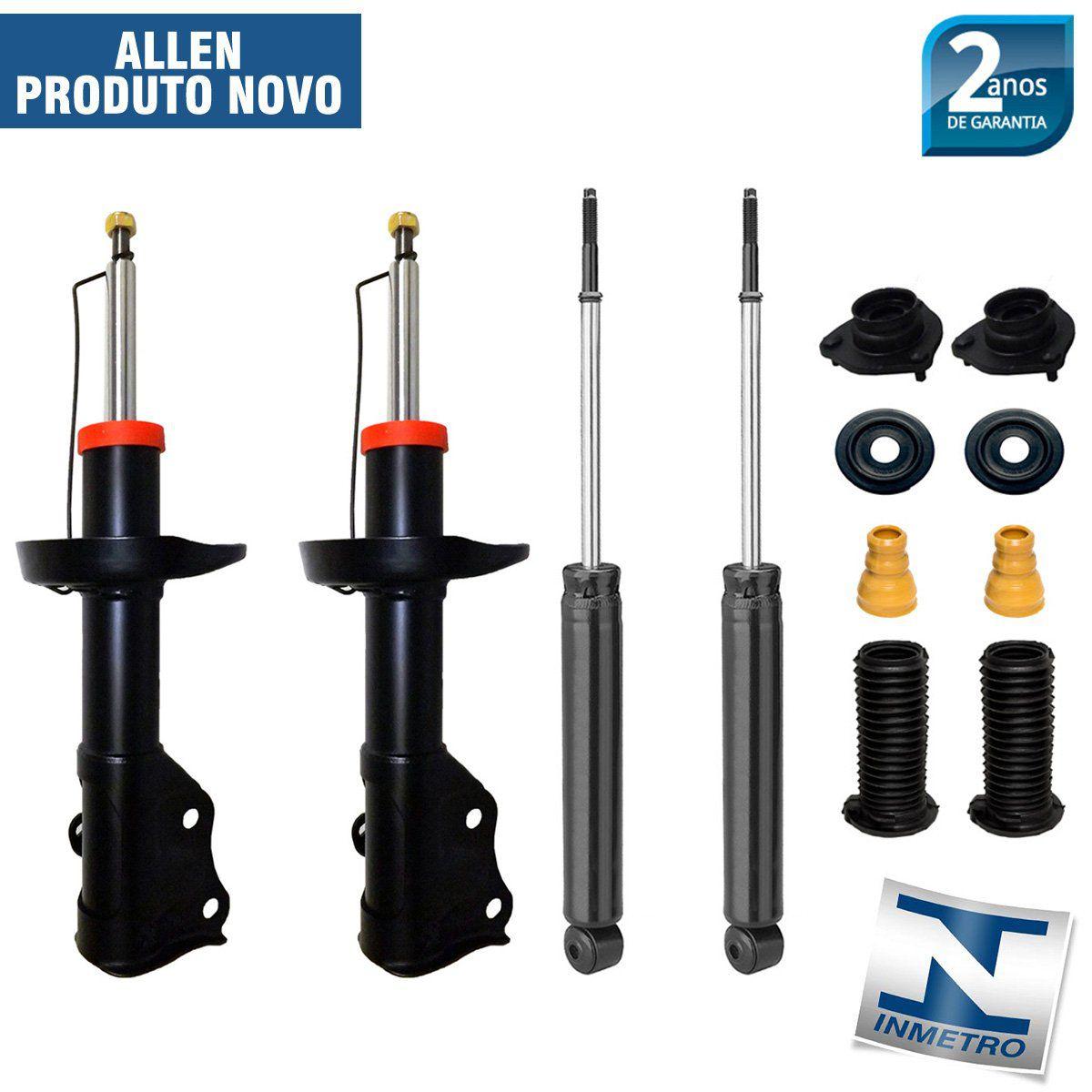 Jogo 04 Amortecedores New Civic 2006 Até 2012 + Kit da Suspensão