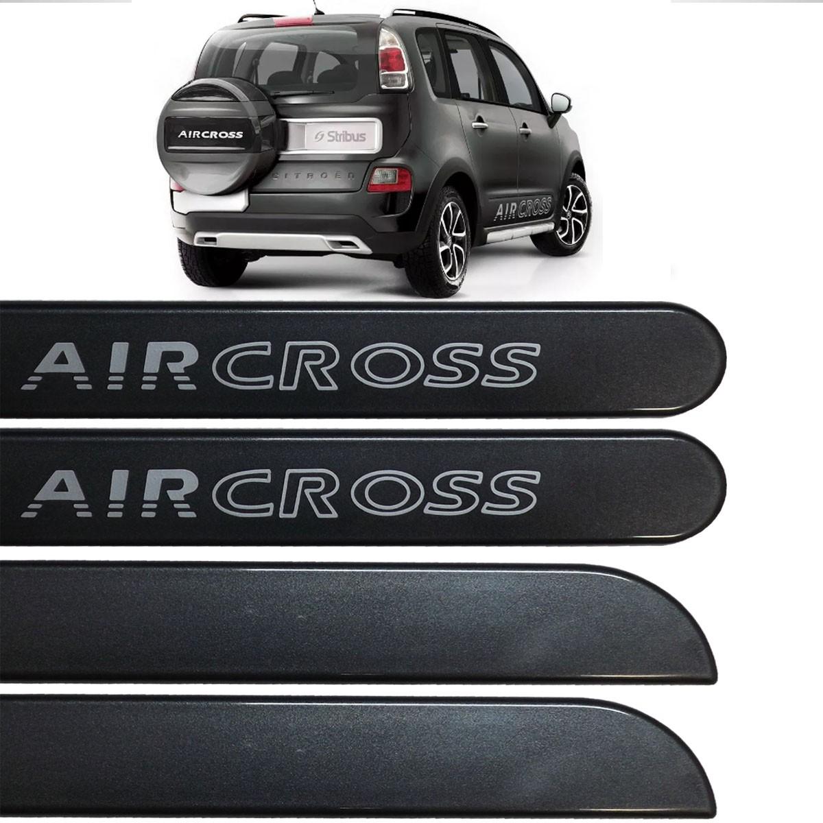 Jogo Friso Lateral AirCross Cinza Grafito 2013 até 2016