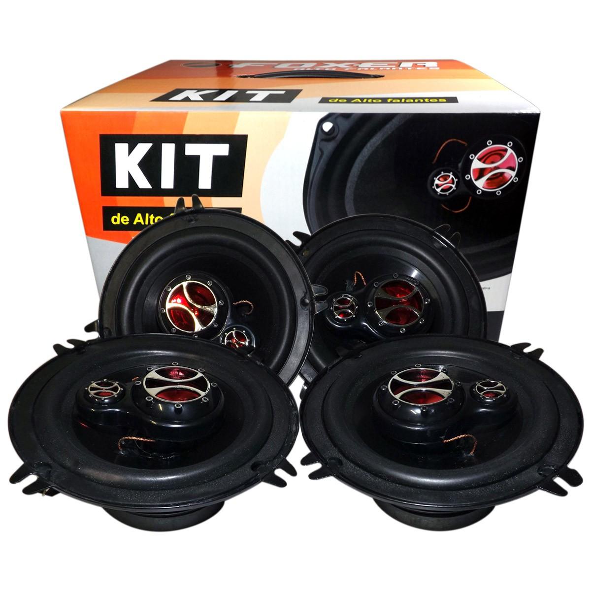 Kit Alto Falante Similar ao Original Celta 4 Portas 2006 até 2013