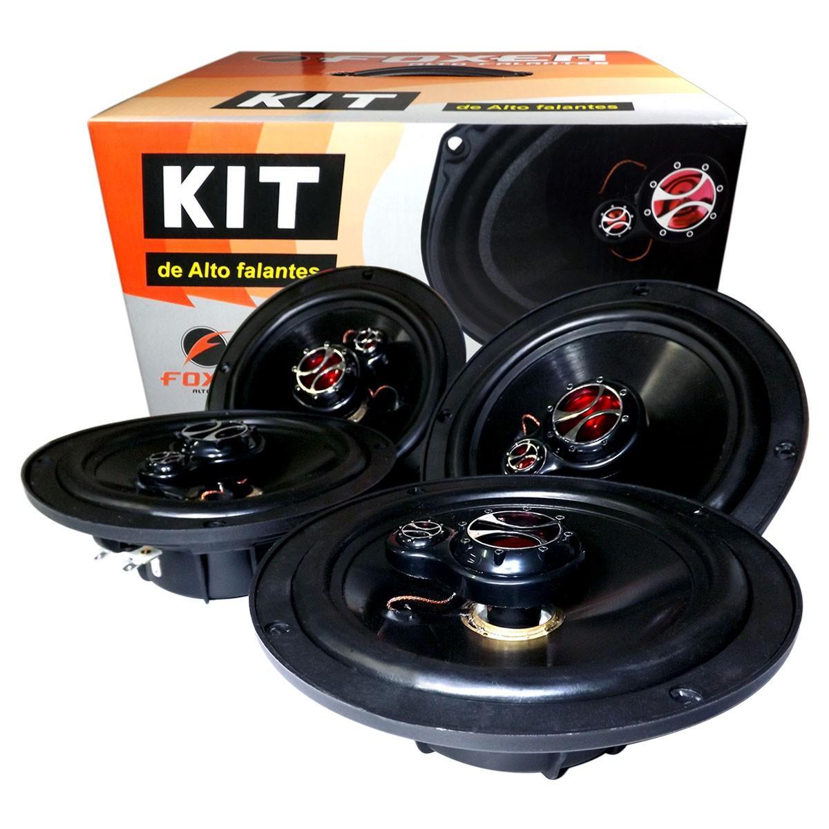 Kit Alto Falante Similar ao Original EcoSport Fiesta Hatch Fiesta Sedan