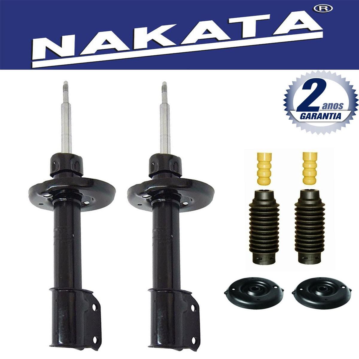 Par de Amortecedores Dianteiro Nakata Citroen C4 Hatch Vtr Pallas 2007 Até 2012 Peugeot 307 2002 Até 2012 + Kit da Suspensão