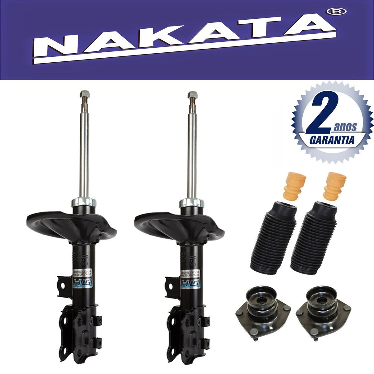 Par de Amortecedores Dianteiro Nakata I30 2009 Até 2013 + Kit da Suspensão