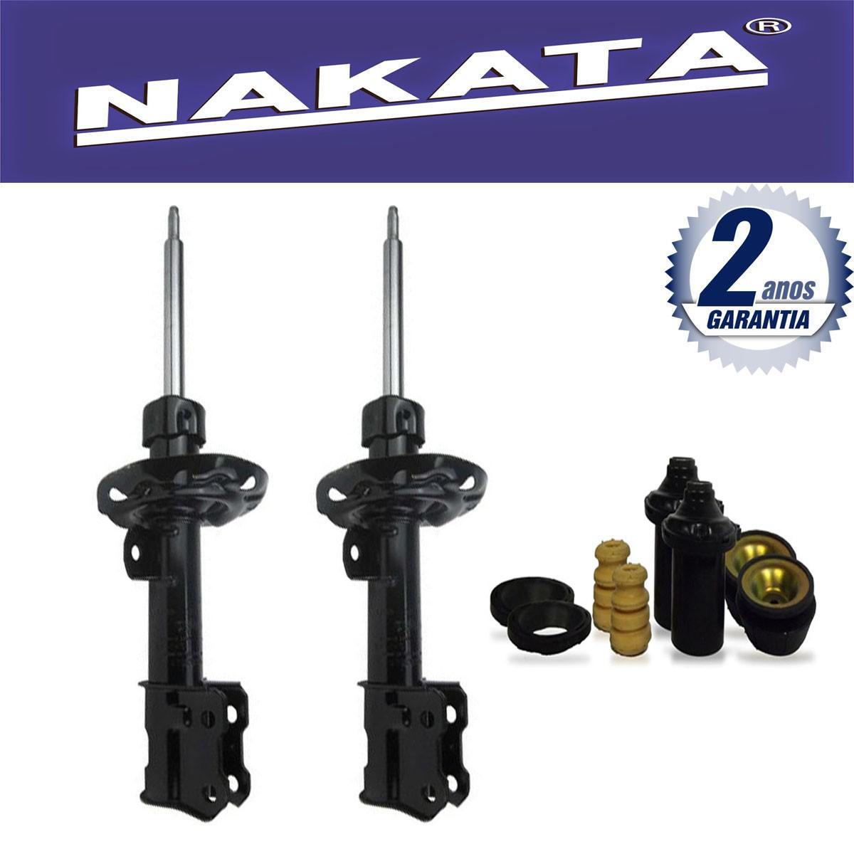 Par de Amortecedores Dianteiro Nakata Montana 2003 Até 2010 + Kit da Suspensão