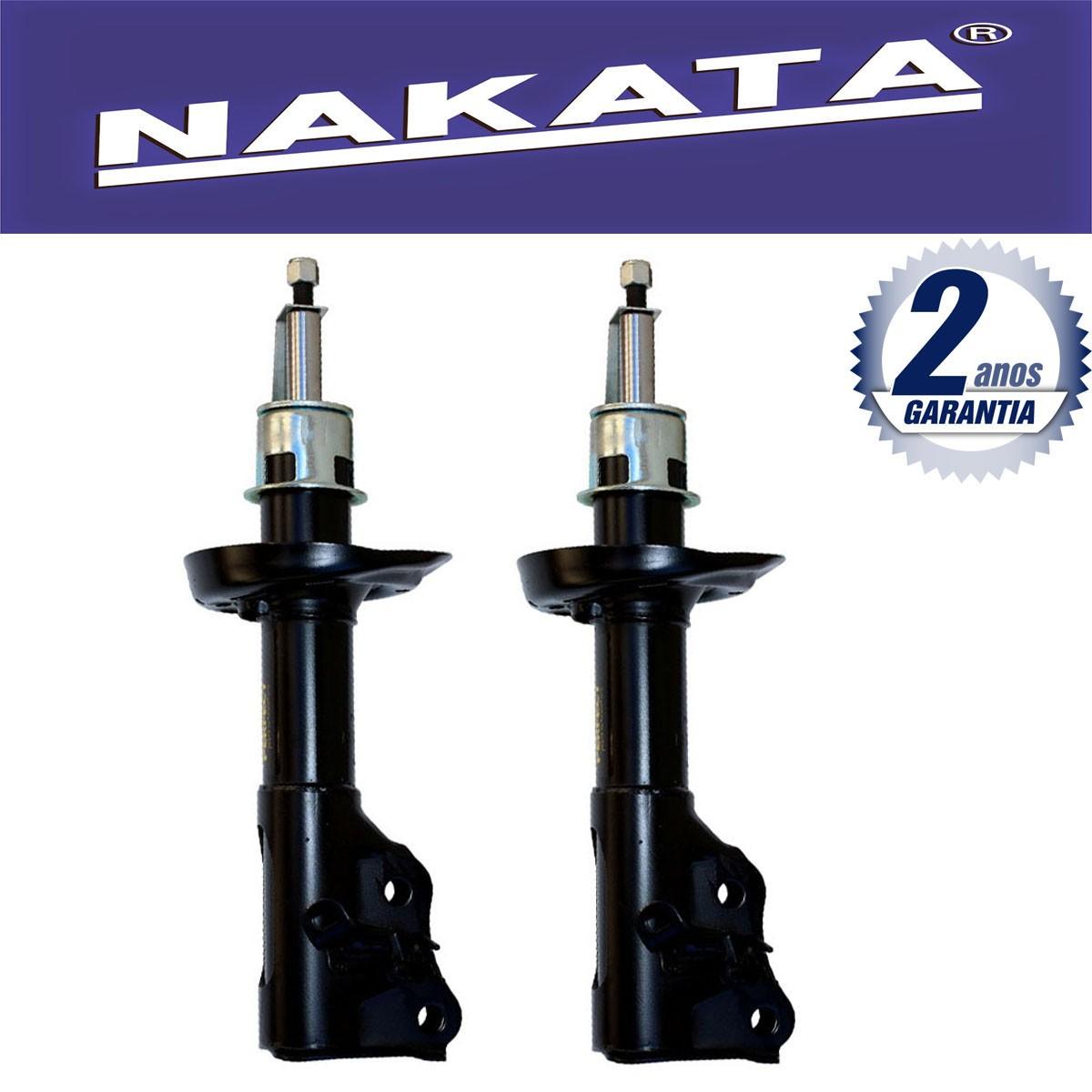 Par de Amortecedores Dianteiro Nakata New Civic 2006 Até 2011