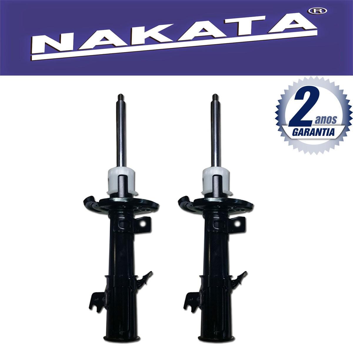 Par de Amortecedores Dianteiro Nakata New Fiesta 2010 Até 2015
