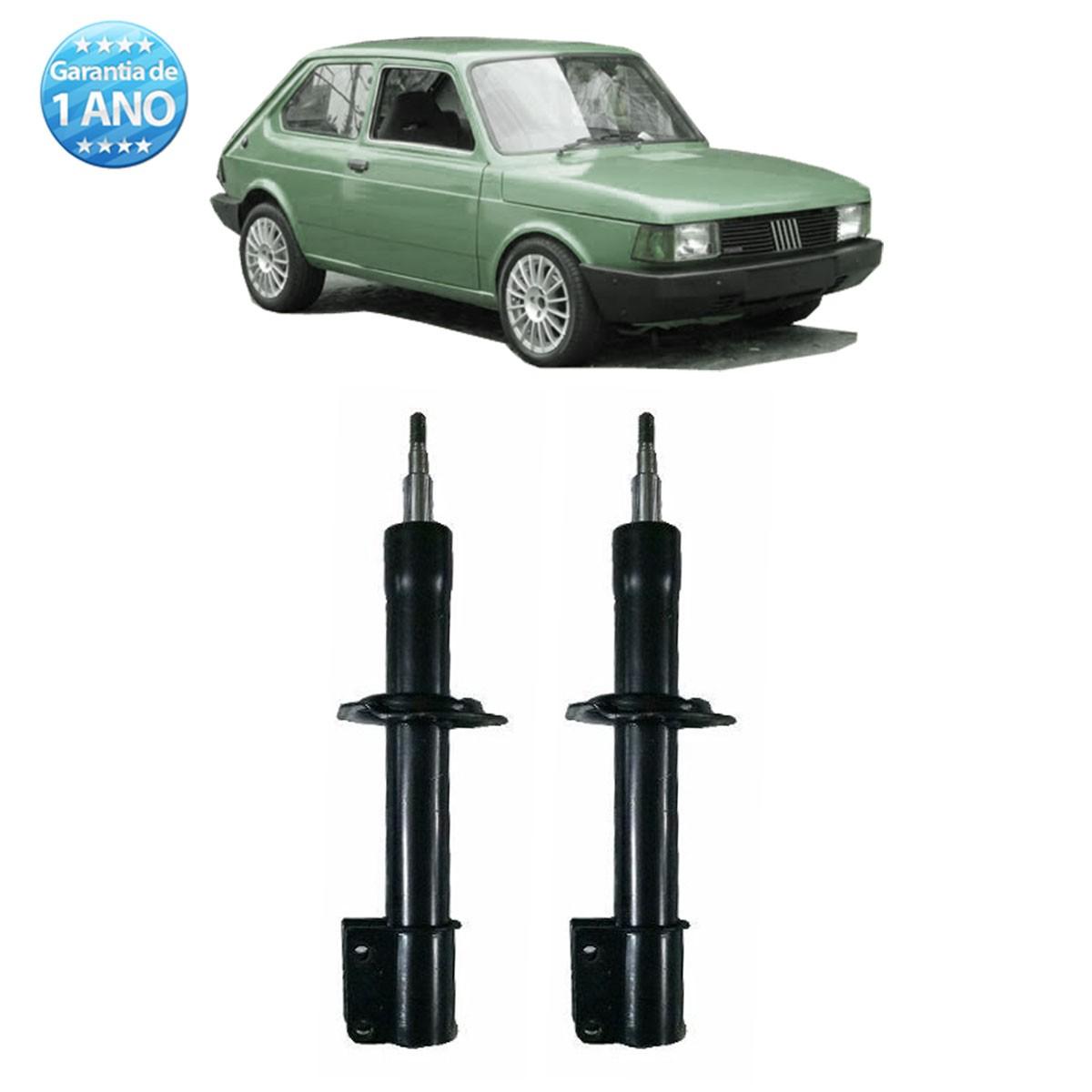 Par de Amortecedores Dianteiro Remanufaturados Fiat 147 Spazio Oggi Paronama 1977 Até 1986