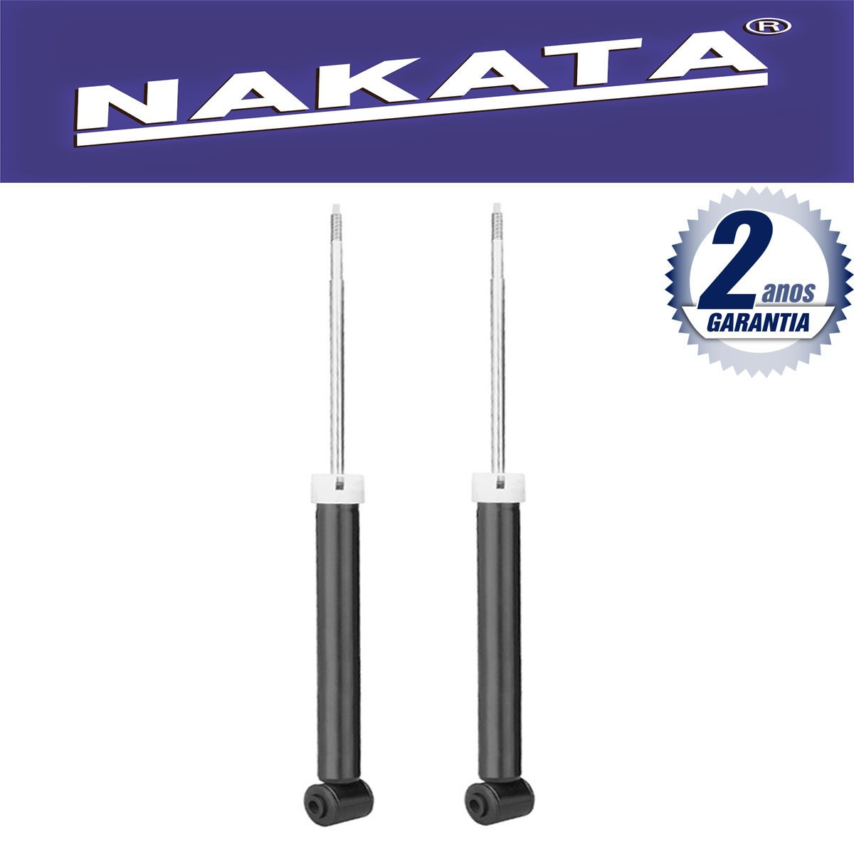 Par de Amortecedores Traseiro Nakata Cobalt 2012 Até 2015