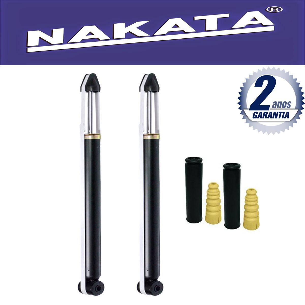 Par de Amortecedores Traseiro Nakata Ecosport 2003 Até 2013 + Kit da Suspensão