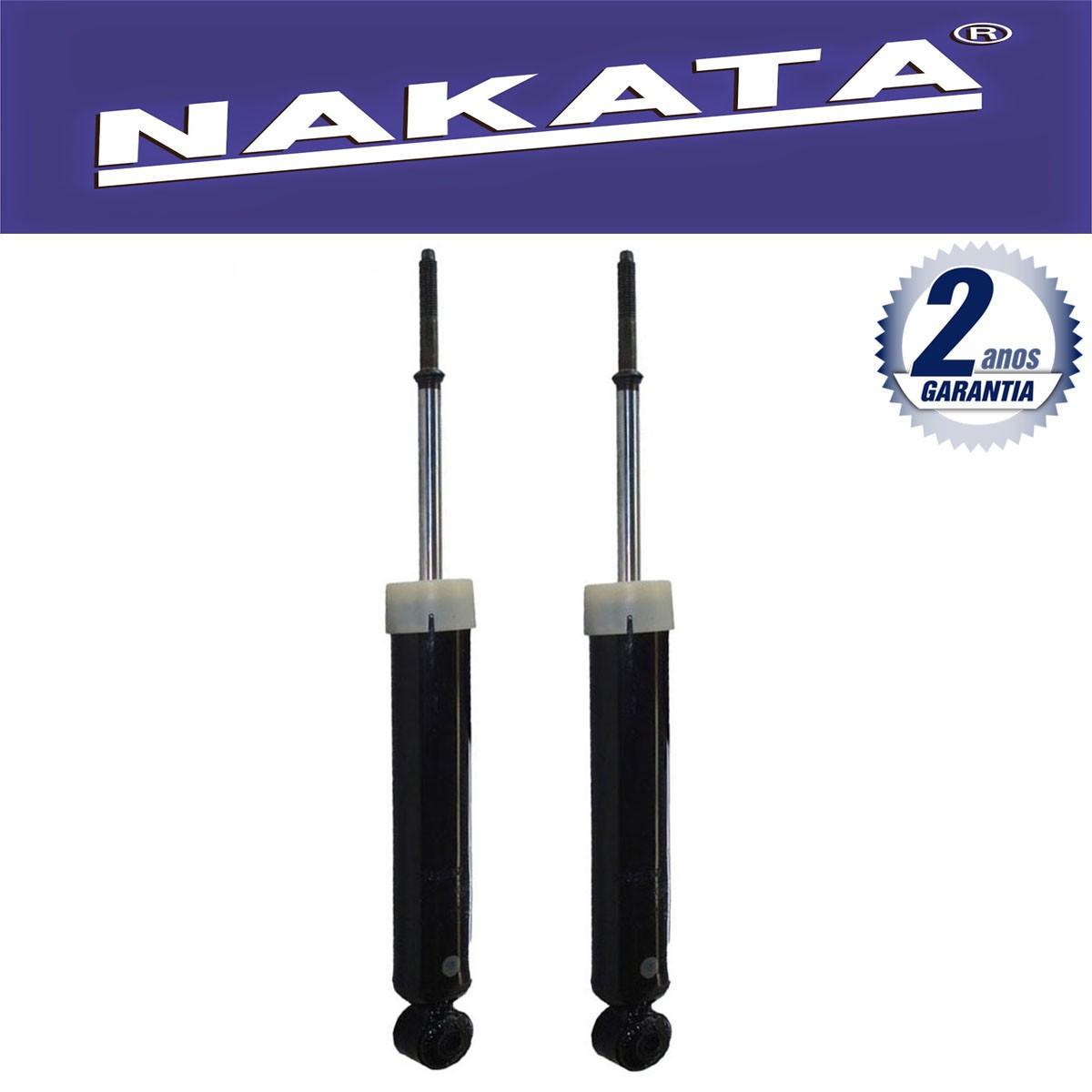 Par de Amortecedores Traseiro Nakata Fiat Idea 2006 Até 2010