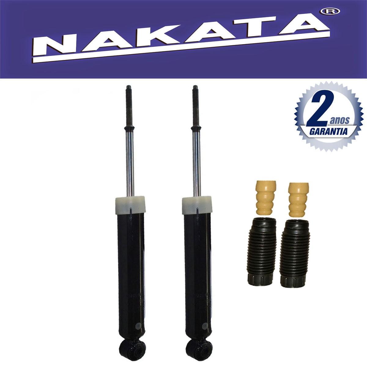 Par de Amortecedores Traseiro Nakata Fiat Idea 2006 Até 2015 + Kit da Suspensão