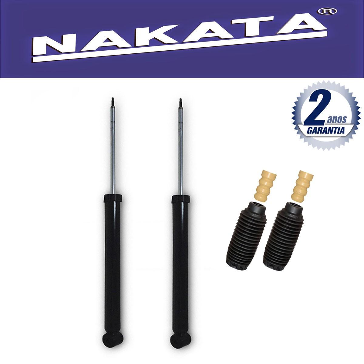 Par de Amortecedores Traseiro Nakata Focus 2000 Até 2008 + Kit da Suspensão