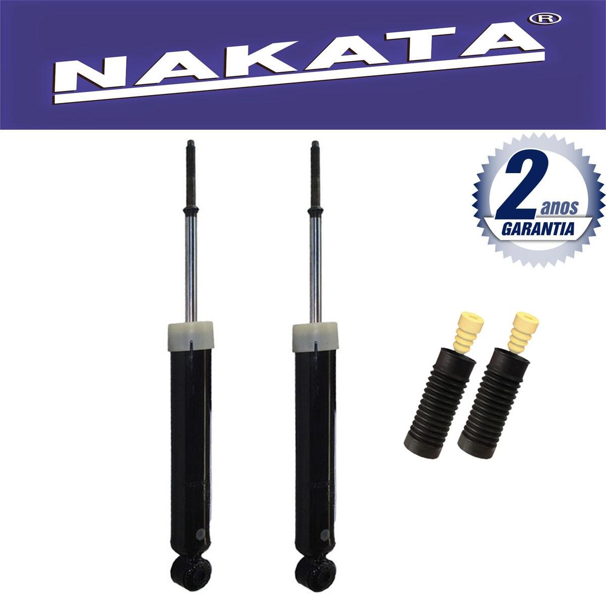 Par de Amortecedores Traseiro Nakata Focus 2008 Até 2013 + Kit da Suspensão