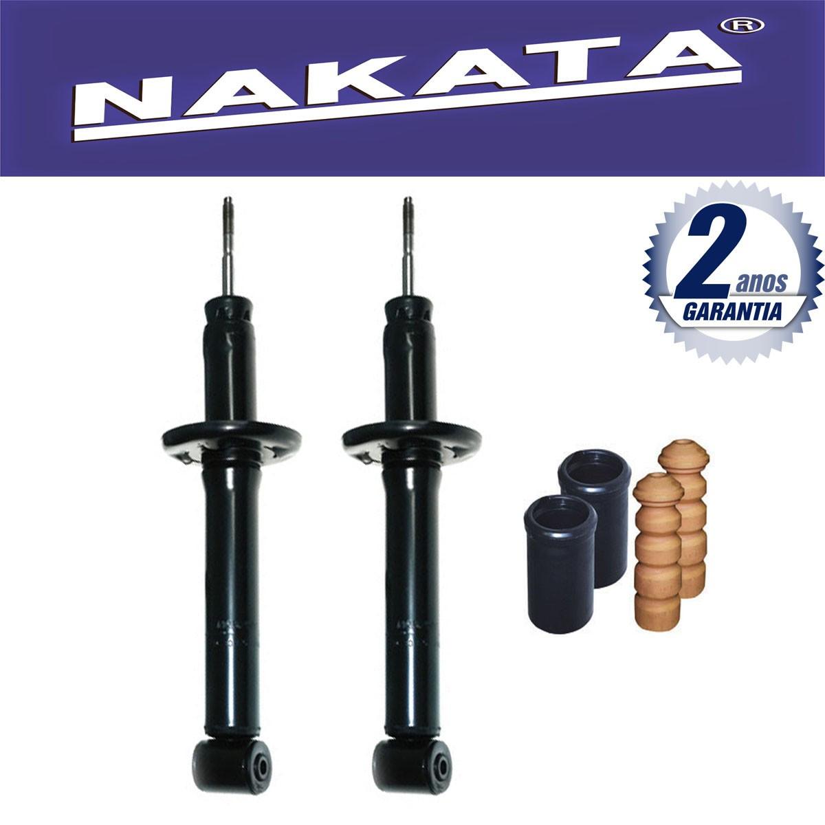 Par de Amortecedores Traseiro Nakata Polo Classic 1997 Até 2003 + Kit da Suspensão