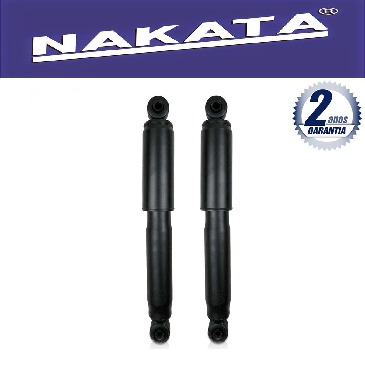 Par de Amortecedores Traseiro Nakata Renault Kangoo Furgão 1999 Até 2012