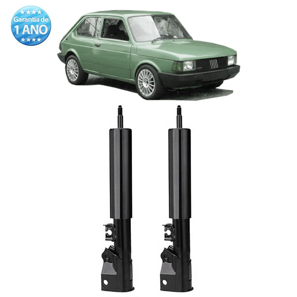 Par de Amortecedores Traseiro Remanufaturados Fiat 147 Oggi Spazio Panorama 1976 Até 1986