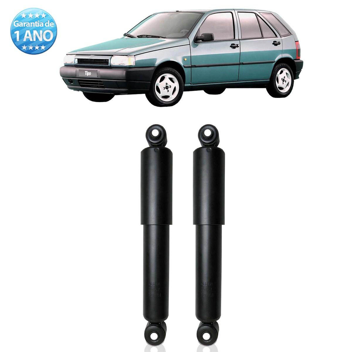 Par de Amortecedores Traseiro Remanufaturados Fiat Tipo 1993 Até 1997