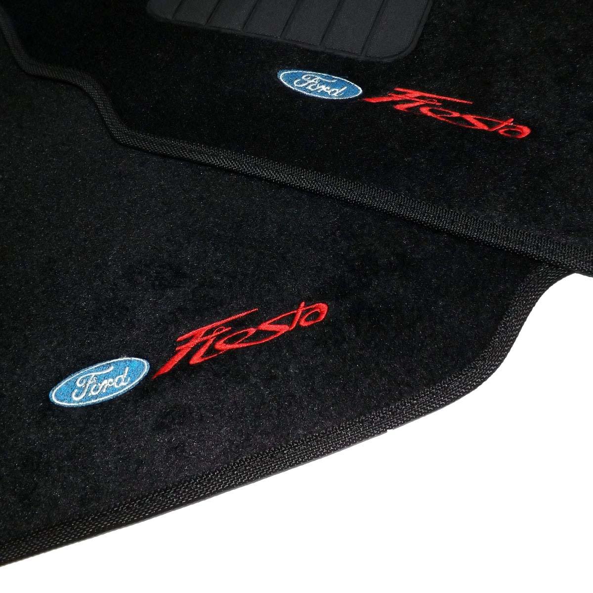 Tapete Carpete Personalizado Logo Bordada Fiesta 1996 até 2002