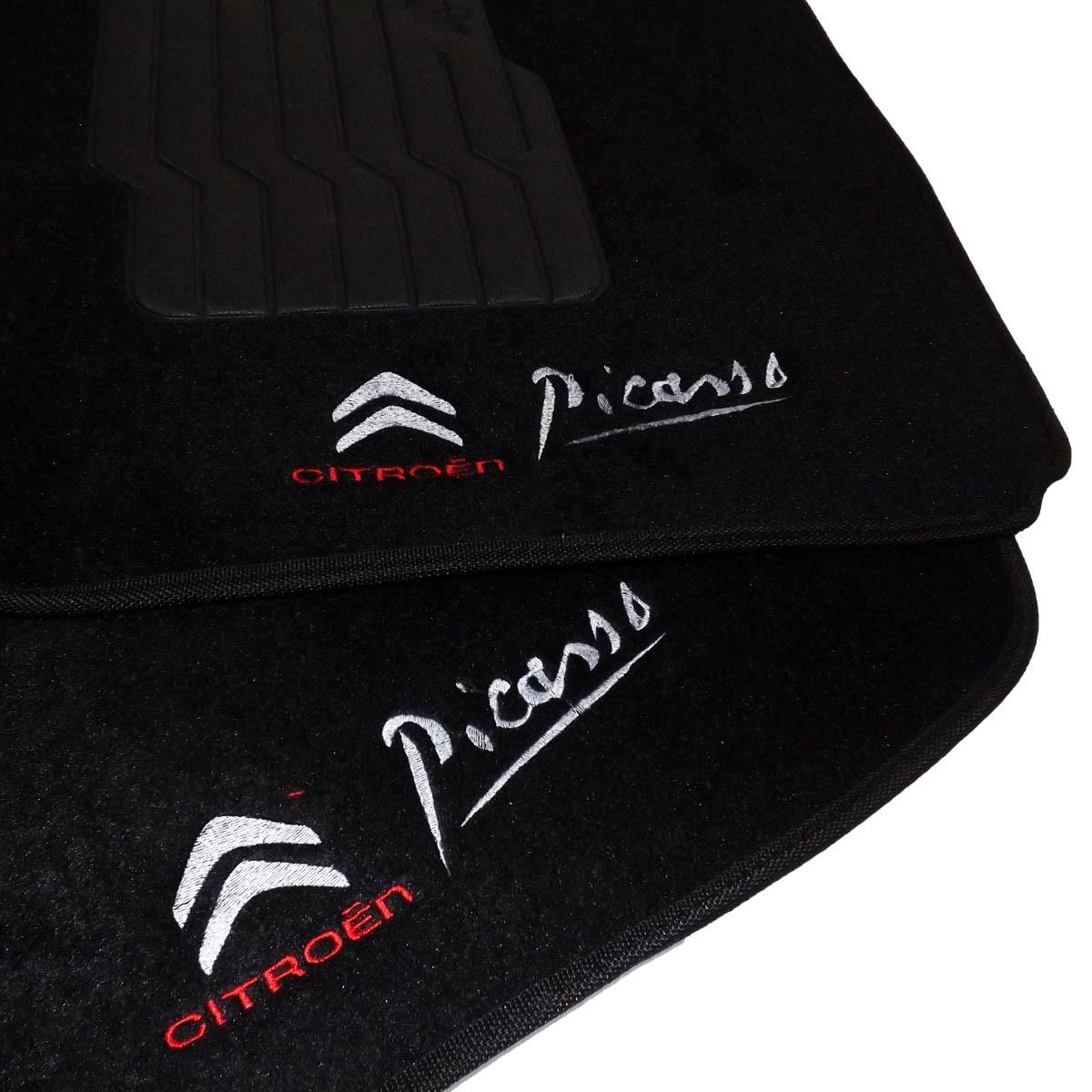 Tapete Carpete Personalizado Logo Bordada Xsara Picasso 2002 até 2012