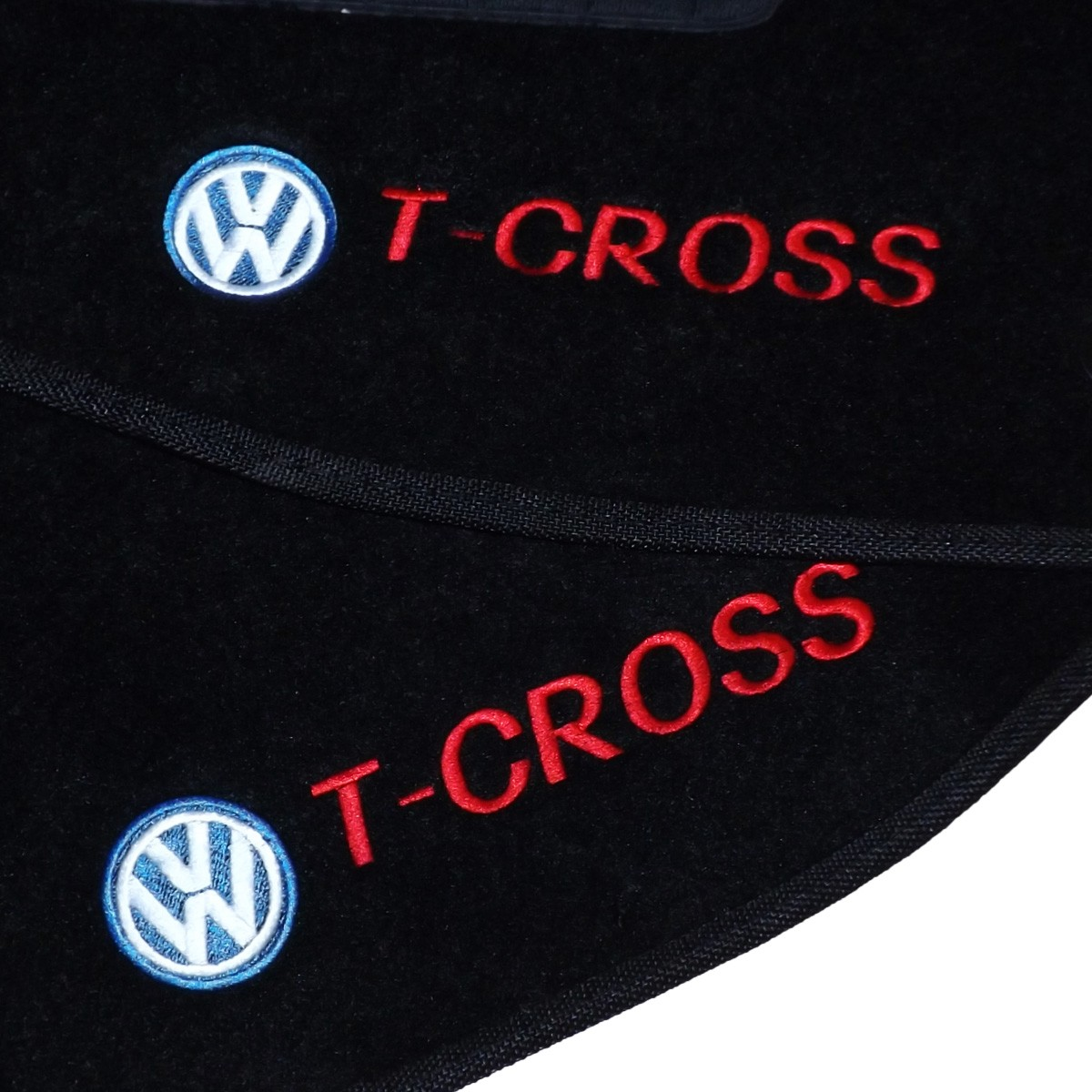 Tapete Carpete T-Cross 2019 Até 2021