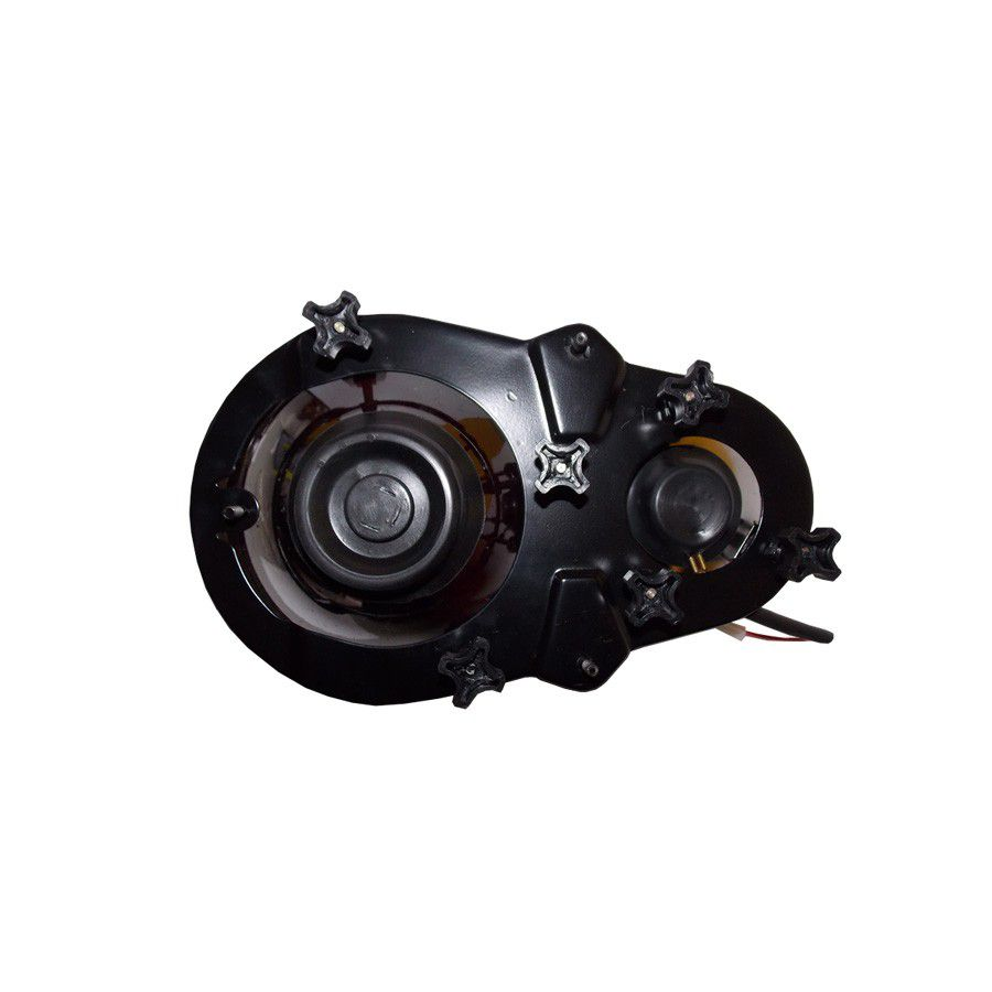 Farol L200 99 00 01 02 03 04 Duplo Mitsubishi Quadrada