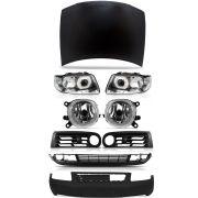 Kit Frente Completa Audi A3 00 01 02 03 04 05 06