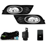 Kit Farol Milha New Civic 2012 2013 2014