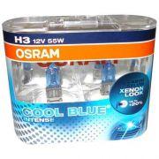 Par Lâmpadas H3 Osram Cool Blue Intense 4200k Par Xenon Look