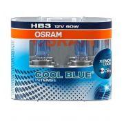 Par de Lâmpadas HB3 super branca Cool Blue Intense osram 4200k