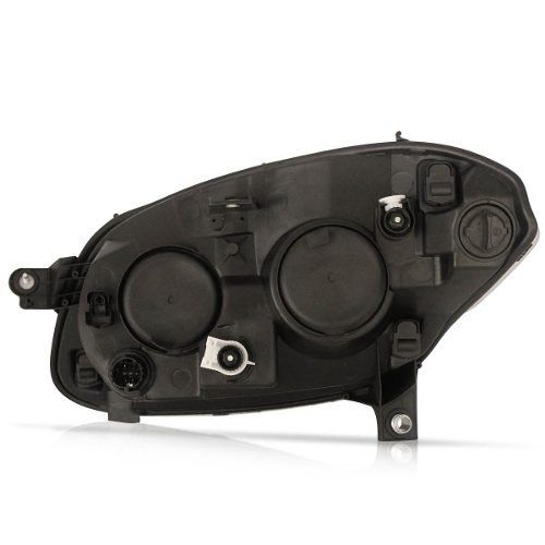 Farol Palio G5 16 15 14 13 12 Foco Duplo Mascara negra