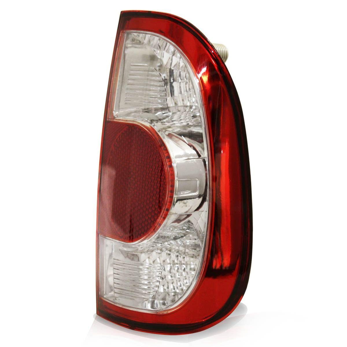 lanterna traseira saveiro G4 06 07 08 09 10 11 12 ré cristal
