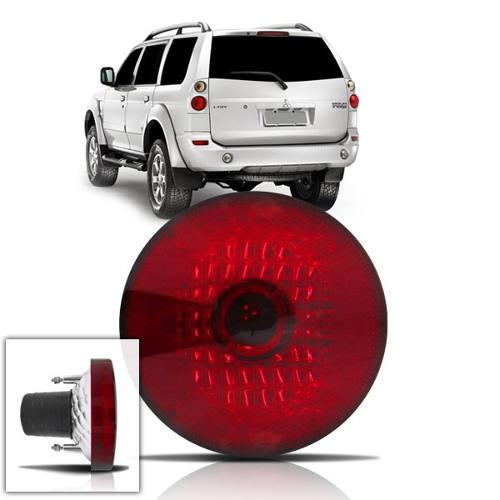 lanterna traseira vermelha pajero sport 07 08 09 117mm