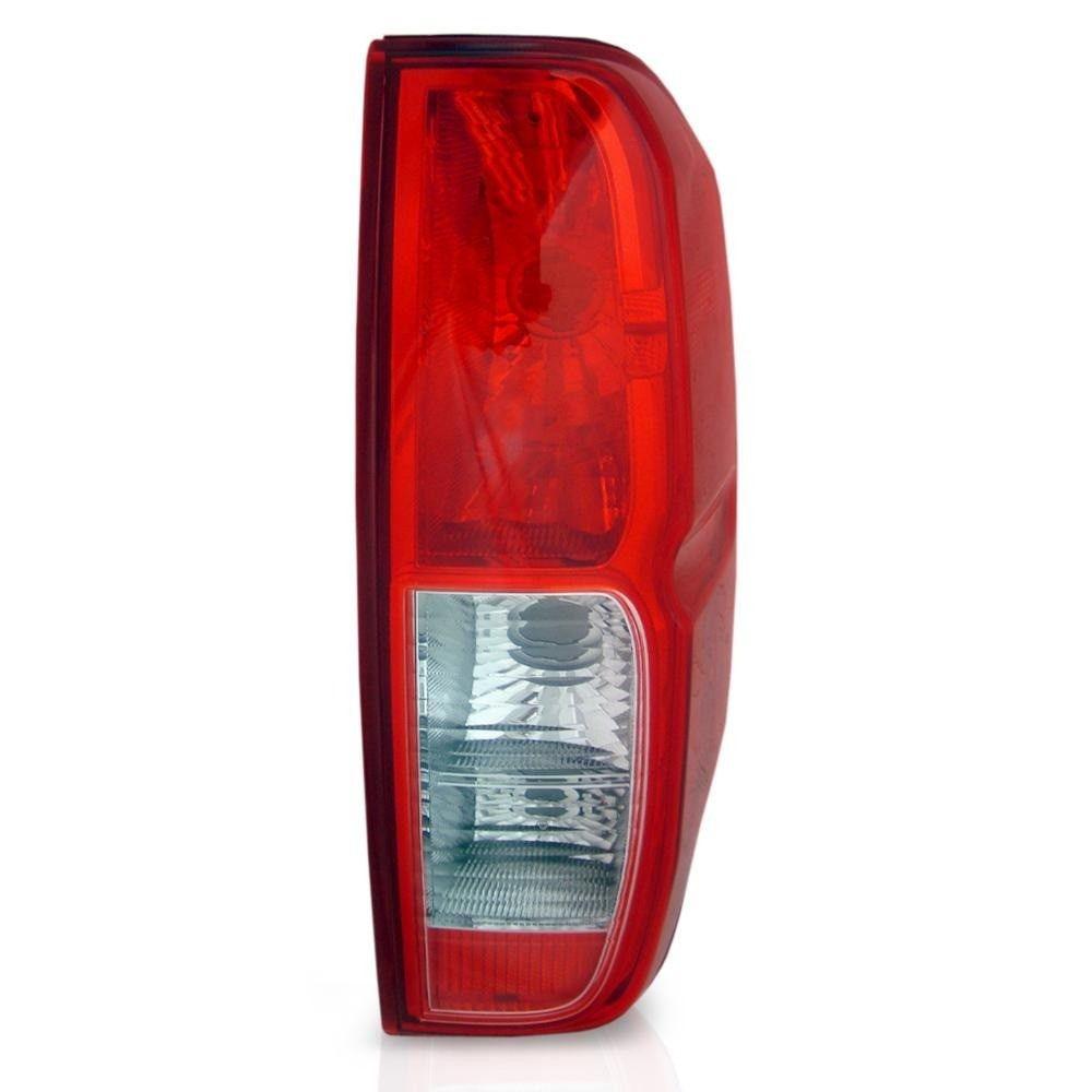lanterna traseira frontier 08 09 10 11 12 13 Bicolor cristal