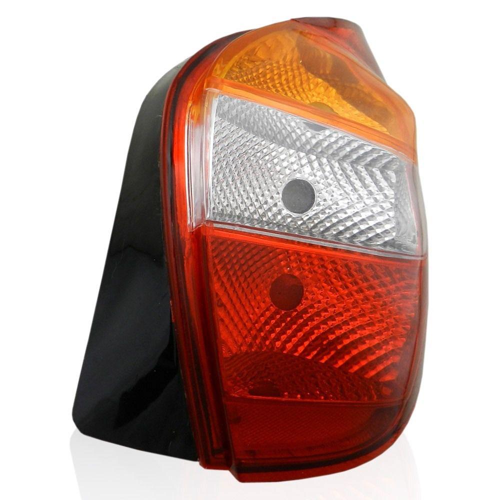 lanterna traseira palio fire g2 01 02 03 04 05 tricolor carcaça preta