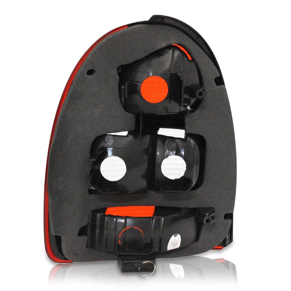 Lanterna Traseira Corsa 00 01 02 Hatch 2 Portas Bolha Ré Fum