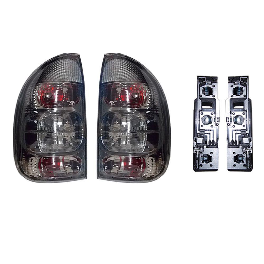 Kit Lanterna Fume +soquete Corsa Hatch 4 Portas Pickup 96-02