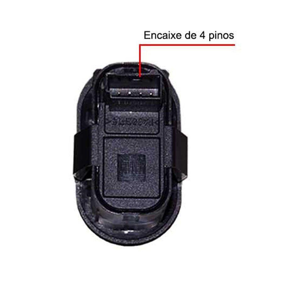 Botao Vidro Eletrico Simples Celta Astra Corsa Zafira Meriva